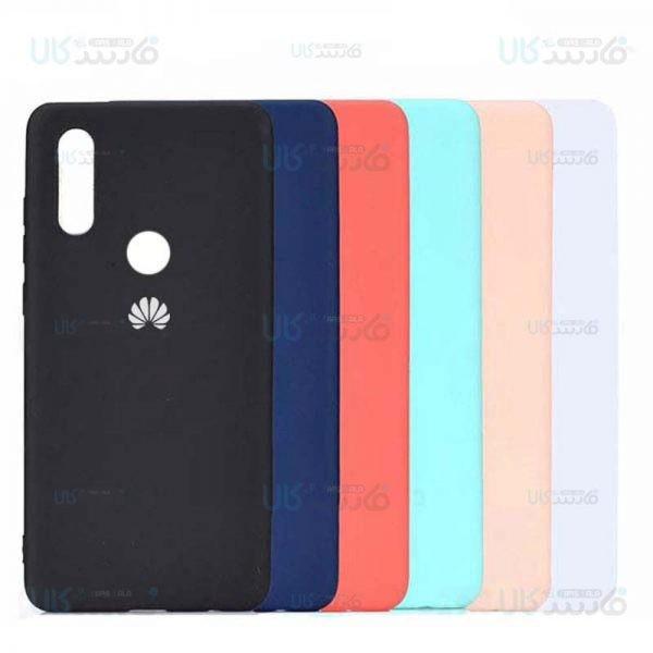 قاب محافظ سیلیکونی هواوی Silicone Case For Huawei Y9 2019 / Enjoy 9 Plus
