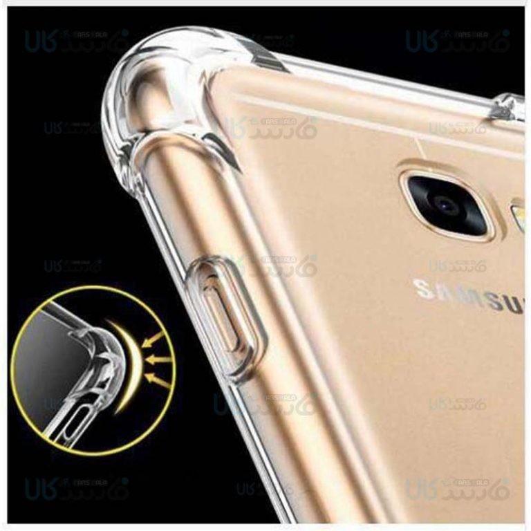 قاب محافظ ژله ای کپسول دار 5 گرمی سامسونگ Clear Tpu Air Rubber Jelly Case For Samsung Galaxy A7 2017