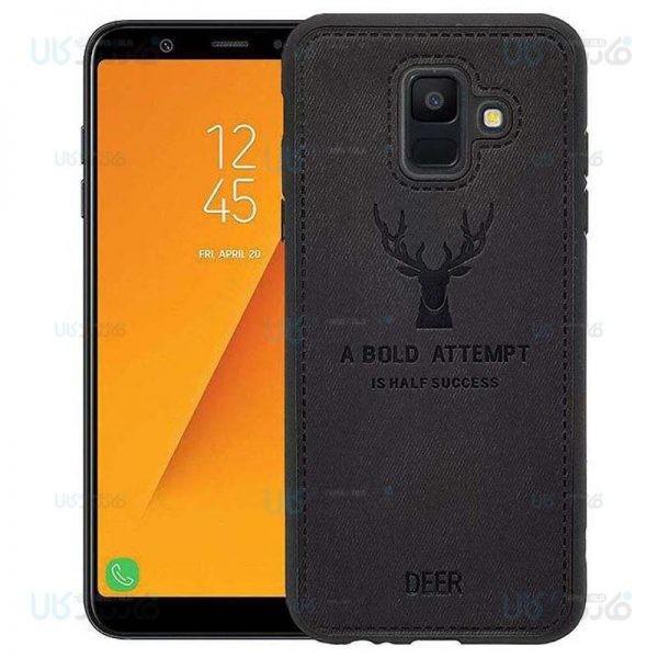 قاب محافظ طرح گوزن سامسونگ Deer Case For Samsung Galaxy A6 2018