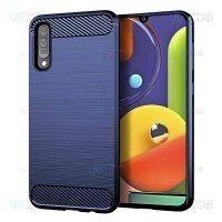 قاب محافظ ژله ای سامسونگ Fiber Carbon Rugged Armor Case For Samsung Galaxy A30s A50s