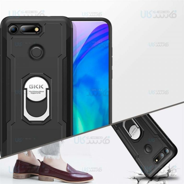 قاب محافظ انگشتی هواوی GKK Armor Ring 360 Case Huawei Nova 4 Honor View 20