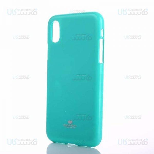 قاب محافظ ژله ای رنگی اپل Mercury Goospery Jelly Case Apple iPhone XS