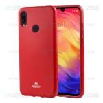 قاب محافظ ژله ای رنگی هواوی Mercury Goospery Jelly Case Huawei Y6 2019 Y6 Prime 2019