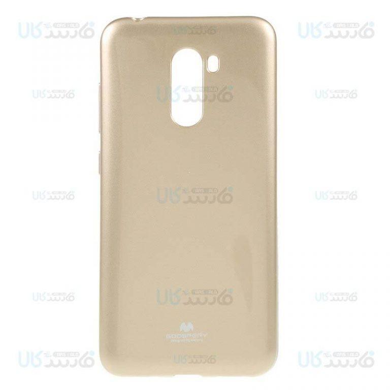 قاب محافظ ژله ای رنگی شیائومی Mercury Goospery Jelly Case Xiaomi Pocophone F1