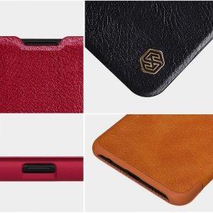 کیف محافظ چرمی نیلکین سامسونگ Nillkin Qin Case For Samsung Galaxy A20s