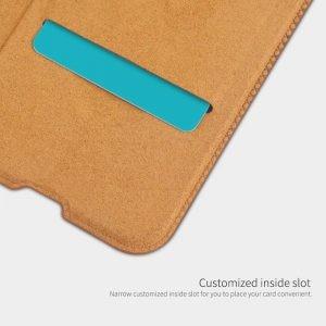 کیف محافظ چرمی نیلکین سامسونگ Nillkin Qin Case For Samsung Galaxy A70s