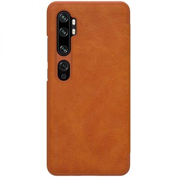 کیف محافظ چرمی نیلکین شیائومی Nillkin Qin Case For Xiaomi Mi CC9 Pro Mi Note 10 Mi Note 10 Pro