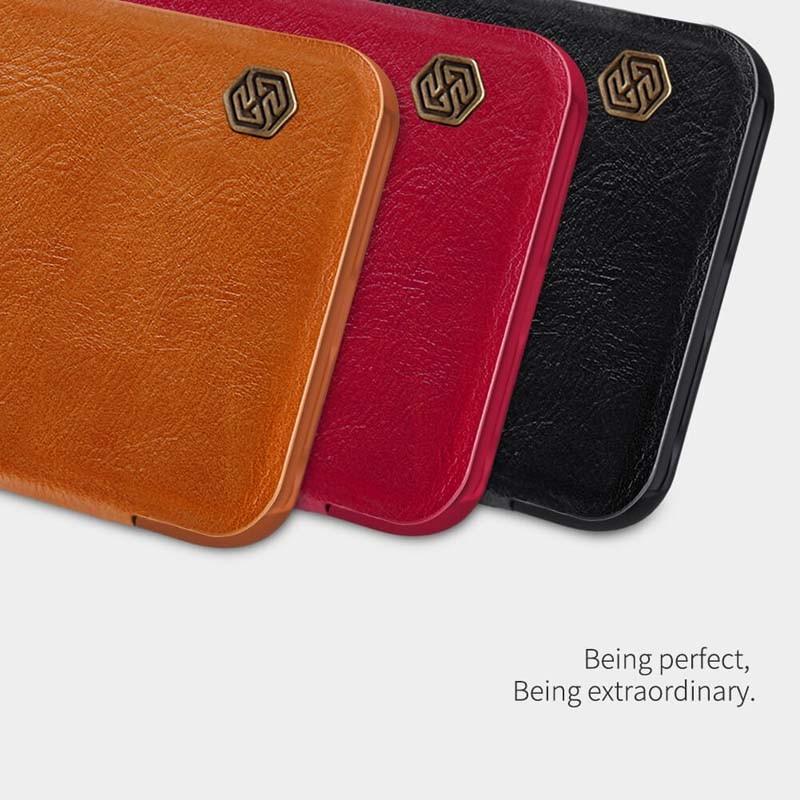 کیف محافظ چرمی نیلکین شیائومی Nillkin Qin Case For Xiaomi Redmi Note 8T