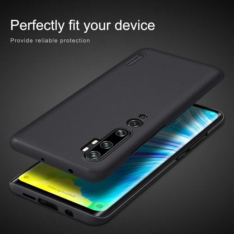 قاب محافظ نیلکین شیائومی Nillkin Super Frosted Shield Case Xiaomi Mi CC9 Pro Mi Note 10 Mi Note 10 Pro