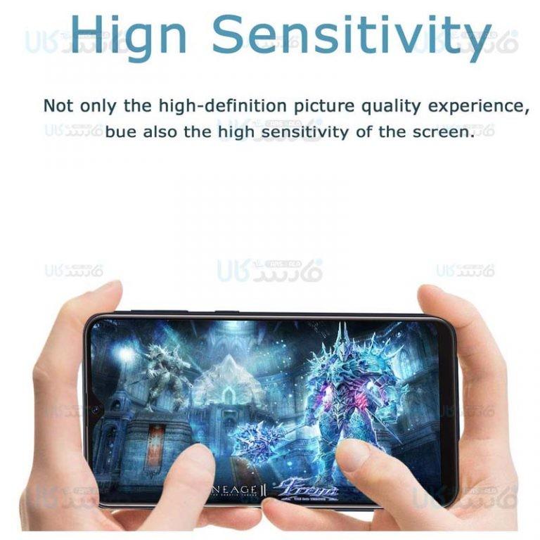 محافظ صفحه نمایش حریم شخصی تمام چسب با پوشش کامل سامسونگ Privacy Full Screen Protector For Samsung Galaxy A10s