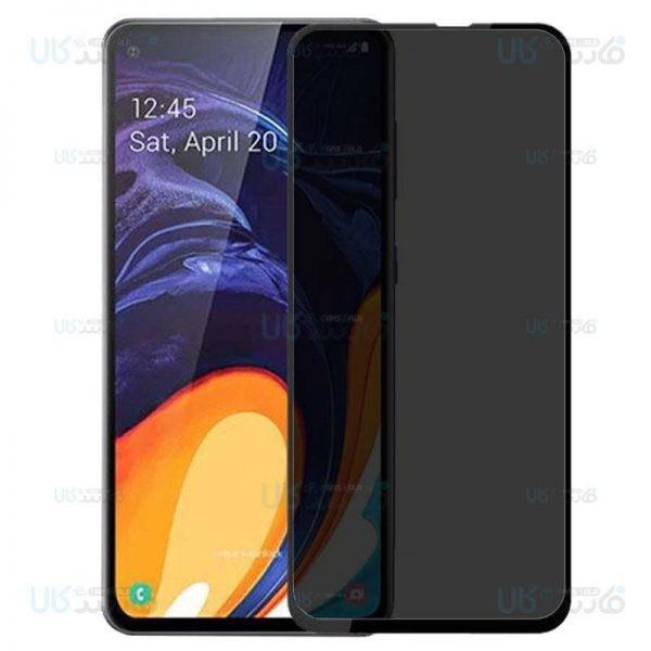 محافظ صفحه نمایش حریم شخصی تمام چسب با پوشش کامل Privacy Full Screen Protector For Samsung Galaxy A60 M40