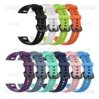 بند سیلیکونی ساعت هوشمند هواوی Silicone HB4 Strap For Huawei Honor Band 4