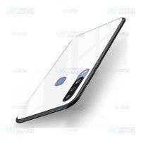 قاب محافظ پشت شیشه ای سامسونگ Tempered Glass Back Case For Samsung Galaxy A40s