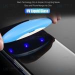 محافظ صفحه شیشه ای تمام صفحه و خمیده یو وی هواوی UV Full Glass Screen Protector Huawei P30 Pro