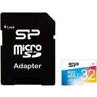 کارت حافظه میکرو 32 گیگابایت Silicon Power Color Elite U1 85MBps