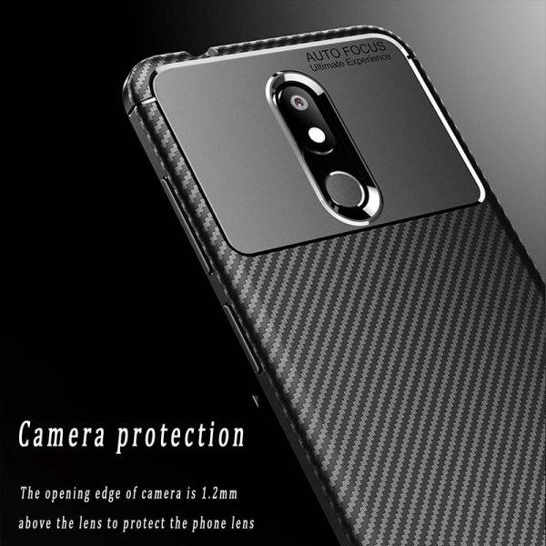 قاب فیبر کربنی نوکیا AutoFocus Becation Beetle Case For Nokia 3.2