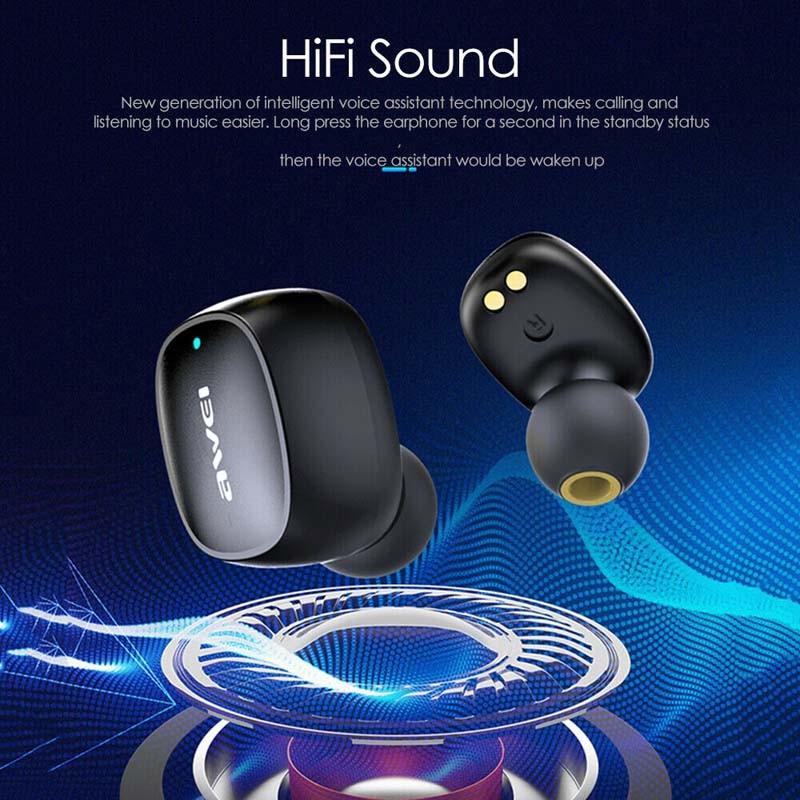 هندزفری بلوتوث اوی Awei T13 Wireless Earbuds
