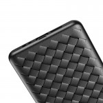 قاب ژله ای طرح چرم حصیری هواوی BV Grid Weaving Case For Huawei P30