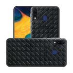 قاب ژله ای طرح چرم حصیری سامسونگ BV Grid Weaving Case For Samsung Galaxy M20