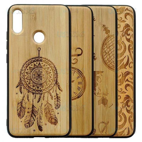 قاب محافظ چوبی بامبو شیائومی Bambo Wood Hard Case For Xiaomi Redmi Note 7 Note 7 Pro