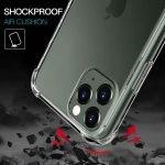 قاب محافظ ژله ای کپسول دار 5 گرمی اپل Clear Tpu Air Rubber Jelly Case For Apple iPhone 11 Pro