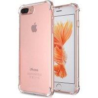 قاب محافظ ژله ای کپسول دار 5 گرمی اپل Clear Tpu Air Rubber Jelly Case For Apple iPhone 7 Plus 8 Plus