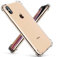 قاب محافظ ژله ای کپسول دار 5 گرمی اپل Clear Tpu Air Rubber Jelly Case For Apple iPhone Xs Max