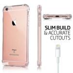قاب محافظ ژله ای کپسول دار 5 گرمی اپل Clear Tpu Air Rubber Jelly Case For Apple iphone 6 6S