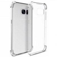 قاب محافظ ژله ای کپسول دار 5 گرمی سامسونگ Clear Tpu Air Rubber Jelly Case For Samsung Galaxy S7 edge
