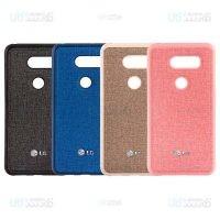 قاب محافظ طرح پارچه ای ال جی Cloth Protective Case For LG V30