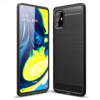 قاب محافظ ژله ای سامسونگ Fiber Carbon Rugged Armor Case For Samsung Galaxy A71