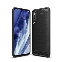 قاب محافظ ژله ای شیائومی Fiber Carbon Rugged Armor Case For Xiaomi Mi 9 Pro 5G