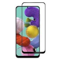 محافظ صفحه نمایش تمام چسب با پوشش کامل سامسونگ Full Glass Screen Protector For Samsung Galaxy A51