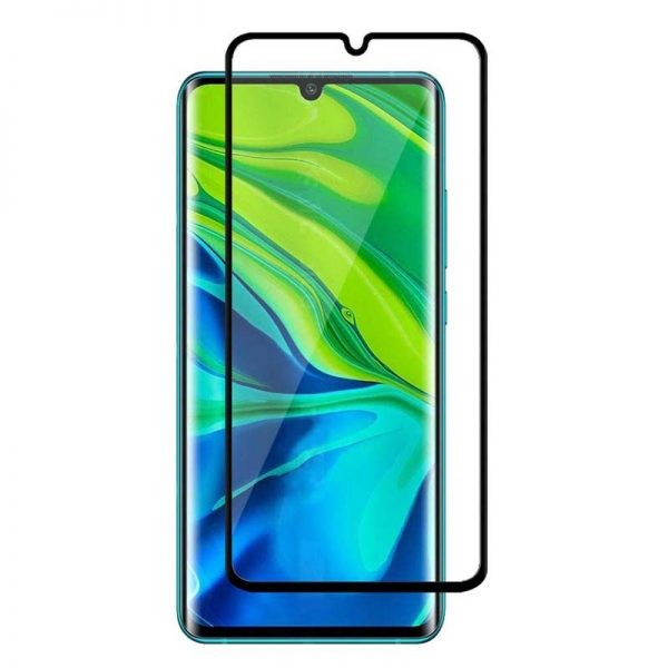 محافظ صفحه نمایش تمام چسب با پوشش کامل شیائومی Full Glass Screen Protector For Xiaomi Mi CC9 Pro Mi Note 10 Mi Note 10 Pro