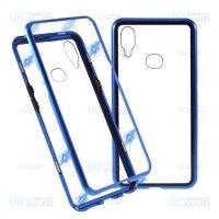 قاب محافظ مگنتی سامسونگ Glass Magnetic 360 Case Samsung Galaxy A10s