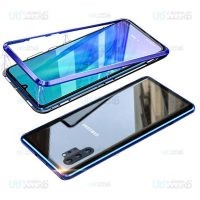 قاب محافظ مگنتی سامسونگ Glass Magnetic 360 Case Samsung Galaxy Note 10 Plus