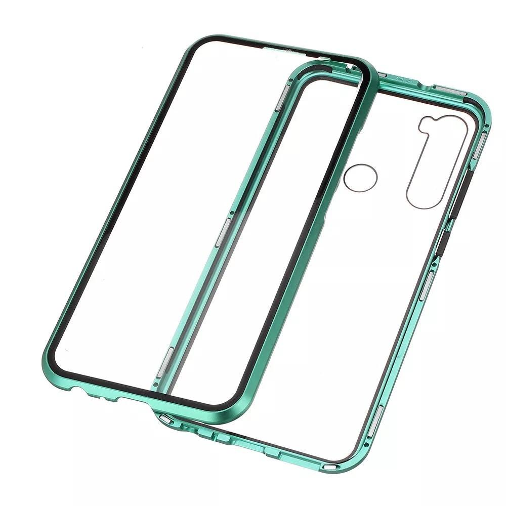قاب محافظ مگنتی شیائومی Glass Magnetic 360 Case Xiaomi Redmi Note 8
