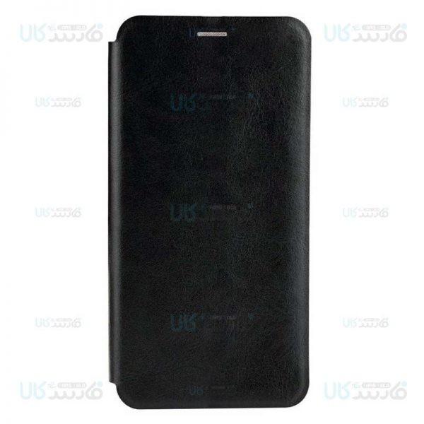 کیف محافظ چرمی شیائومی Leather Standing Magnetic Cover For Xiaomi Mi 9 Lite Mi CC9