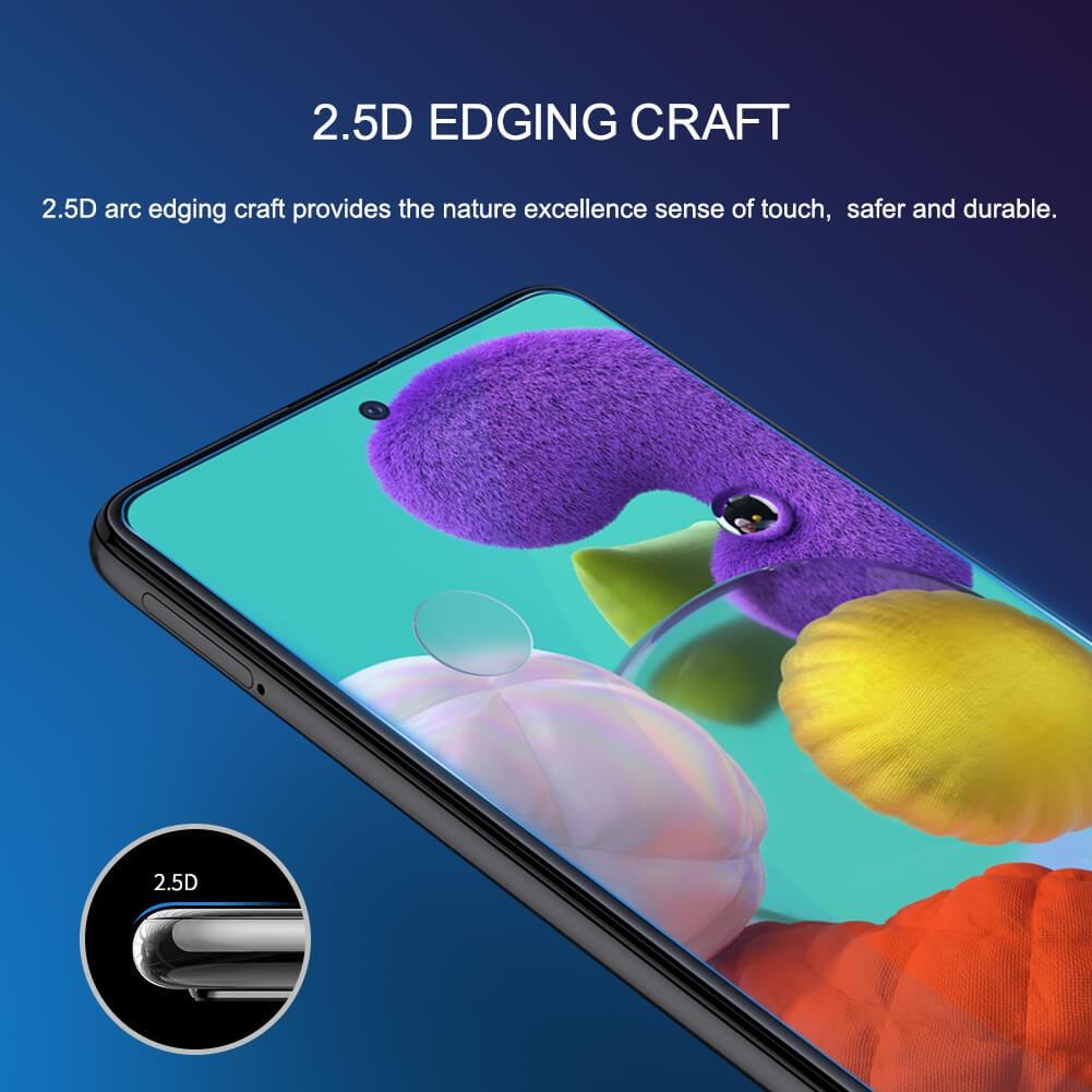 محافظ صفحه نمایش شیشه ای نیلکین سامسونگ Nillkin H+ Pro Glass Samsung Galaxy A51