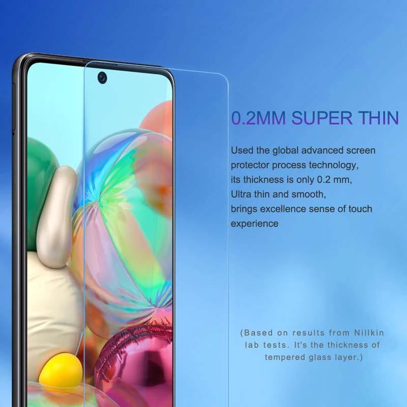 محافظ صفحه نمایش شیشه ای نیلکین سامسونگ Nillkin H+ Pro Glass Samsung Galaxy A71