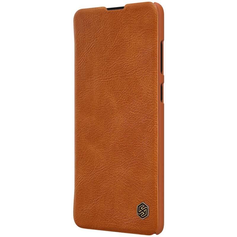 کیف محافظ چرمی نیلکین سامسونگ Nillkin Qin Case For Samsung Galaxy Note 10 Lite