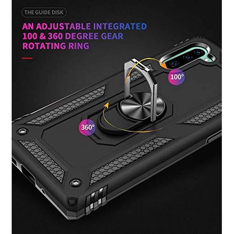 قاب محافظ انگشتی سامسونگ Ring Rugged Hybrid Armor 360 Case Samsung Galaxy Note 10