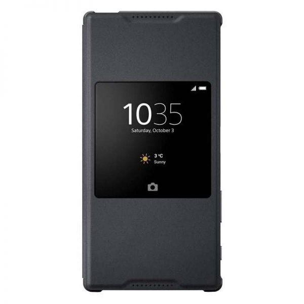 کیف کلاسوری سونی Style Cover Window SCR42 Cover For Sony Xperia Z5