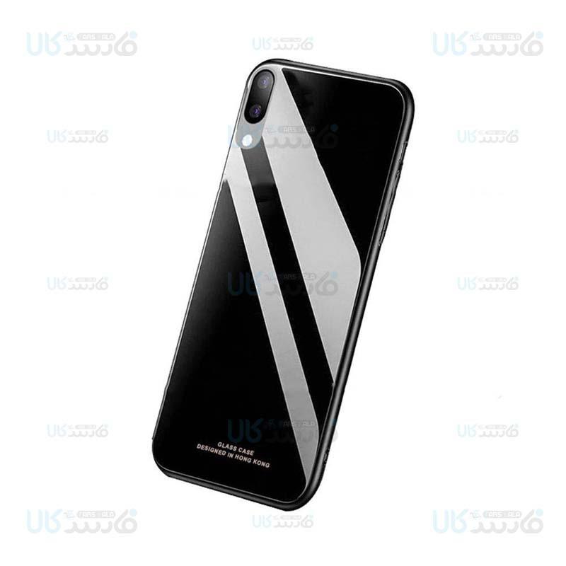 قاب محافظ پشت شیشه ای سامسونگ Tempered Glass Back Case For Samsung Galaxy M10