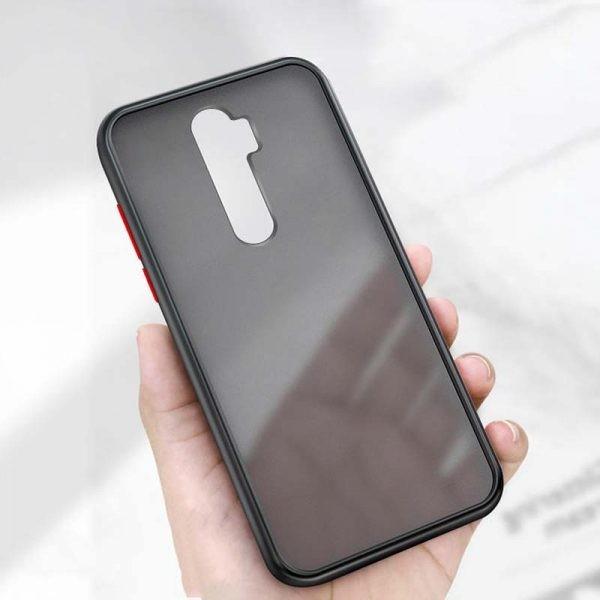 قاب محافظ شیائومی Transparent Hybrid Case For Xiaomi Redmi Note 8 Pro