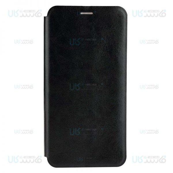 کیف محافظ چرمی شیائومی Leather Standing Magnetic Cover For Xiaomi Redmi Note 8