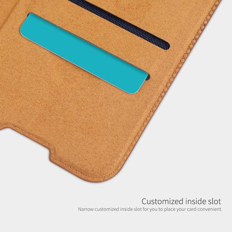 کیف محافظ چرمی نیلکین سامسونگ Nillkin Qin Case For Samsung Galaxy S10 Lite 2020
