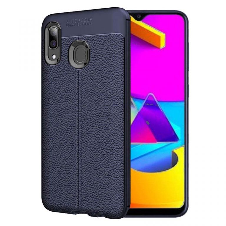 قاب ژله ای طرح چرم سامسونگ Auto Focus Jelly Case For Samsung Galaxy M10s