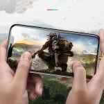 محافظ صفحه نمایش شیشه ای دو تایی بیسوس اپل Baseus Full Coverage Curved Screen Protector For Apple iPhone XS Max 11 Pro Max