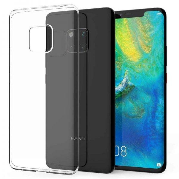 قاب محافظ شیشه ای- ژله ای هواوی Belkin Transparent Case For Huawei Mate 20 Pro